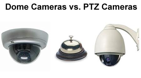 dome vs ptz cameras