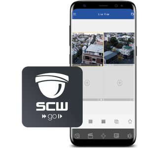 Smartphone viewing with SCWGo