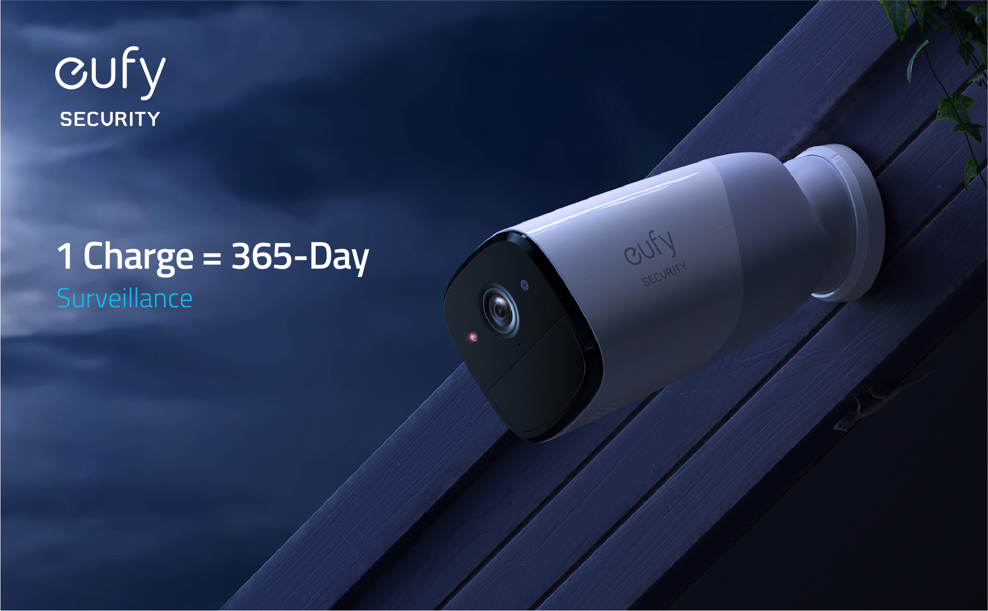 Eufy Wire Free battery Powered Wifi Security Cameras