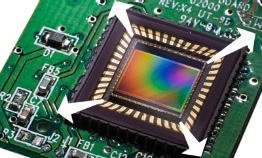 larger image sensor for low light