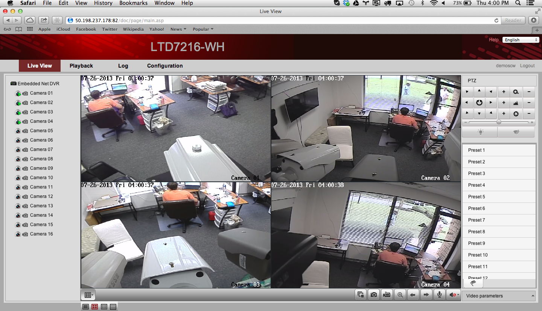 Cloud-Based Video Surveillance