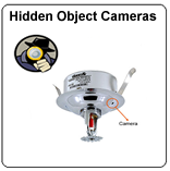 hidden security camera objects