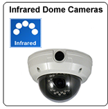 infrared dome security camera