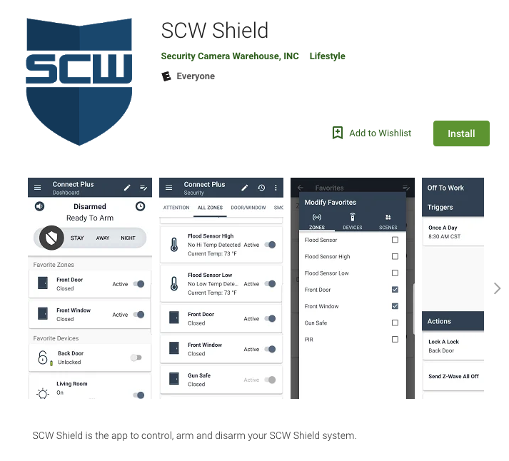 SCW Shield App