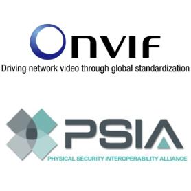 interoperability with PSIA and ONVIF