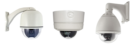 PTZ security cameras