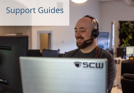 security camera and alarm tech support guides