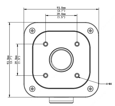 Electrical Box Mount for The Warrior - EMB26BF