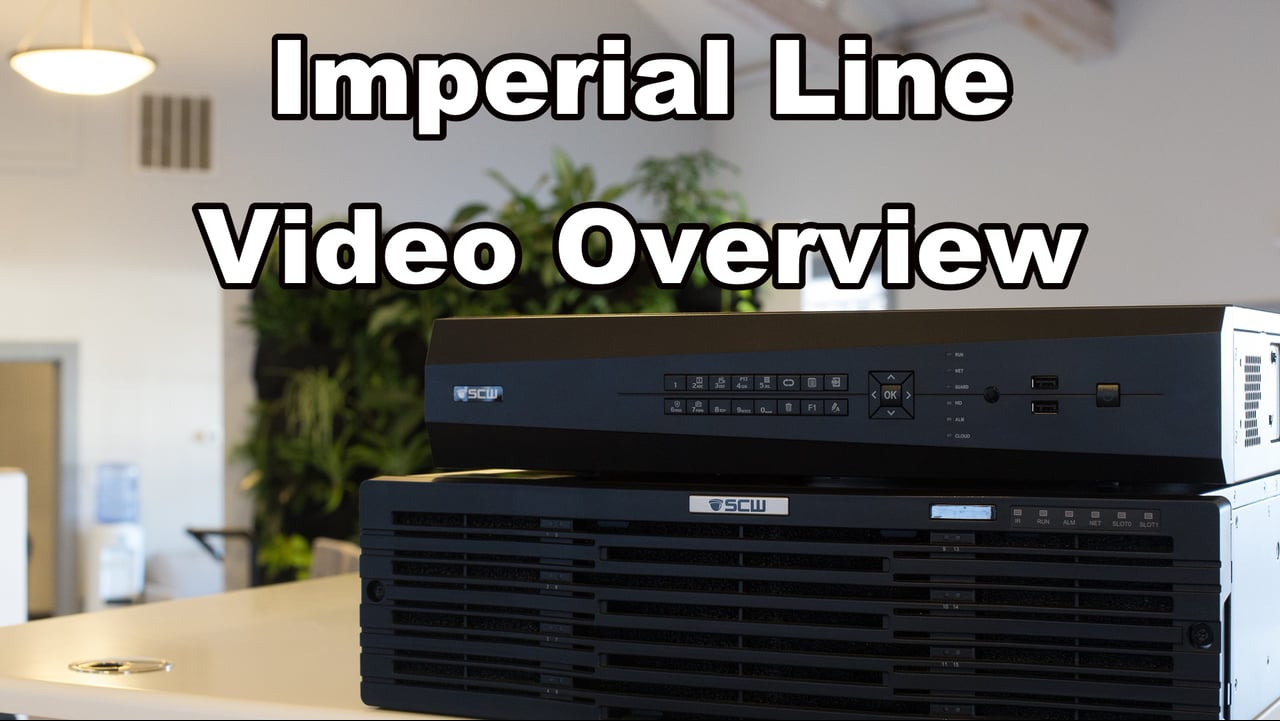 Imperial NVR Series Overview