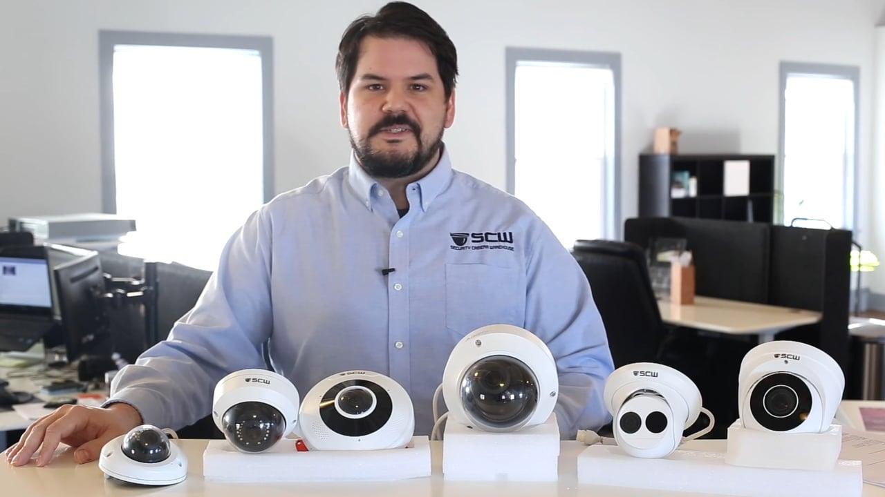 SCW Dome Camera Lineup