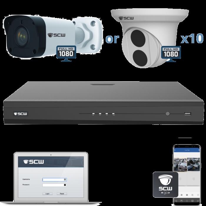 10 Camera 1080P Admiral Series