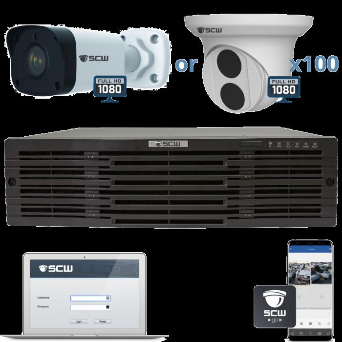 100 Camera 1080P Imperial Series