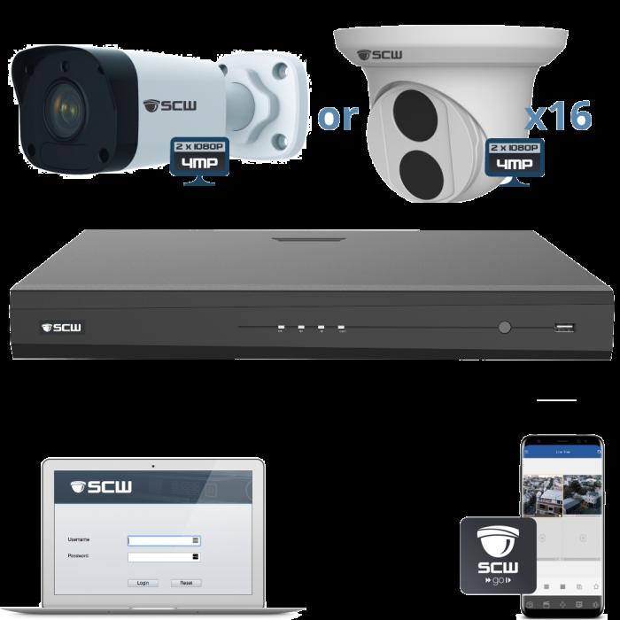 16 Camera 1080P Admiral Series