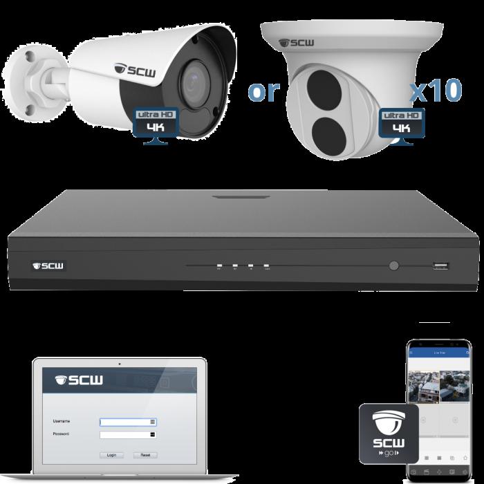 10 Camera 4K Admiral Series