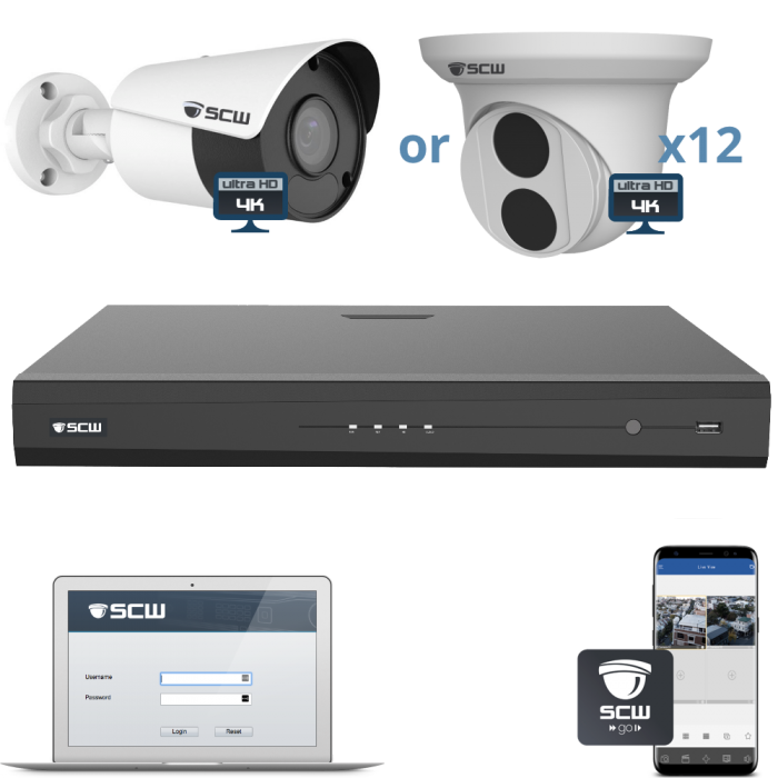 12 Camera 4K Admiral Series