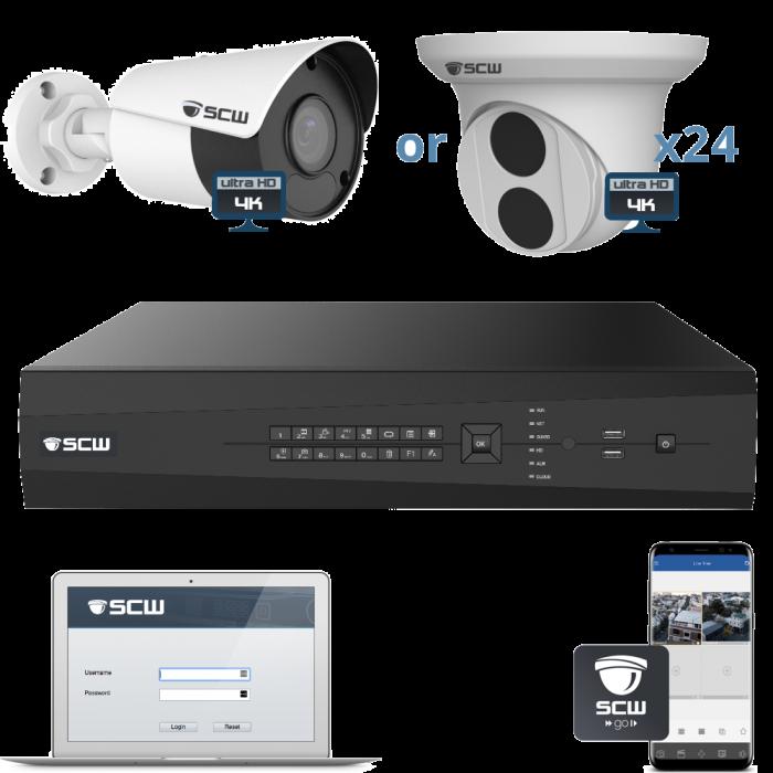24 Camera 4K Admiral Series