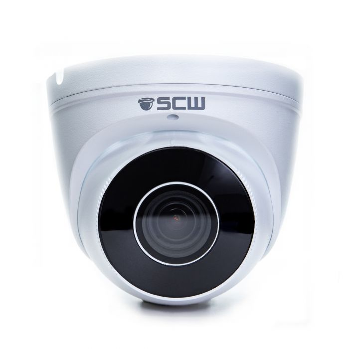 The Detective 8.0 - 26DV8M-A - 8MP (4x1080P) Multi-Purpose Lens Turret Dome Camera with Motorized Zoom and Focus and Audio Microphone