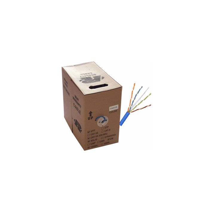 1000ft Network PLENUM rated CAT6, PVC, FULL COPPER (Commercial Grade) SCW-NCC6-1000PL