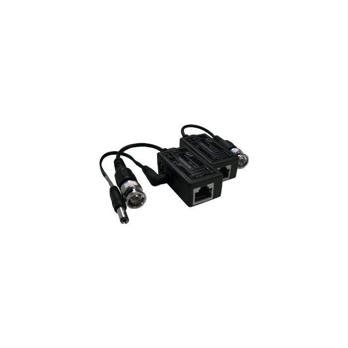 Passive Video Cat5 Balun (with power) SCW-B303
