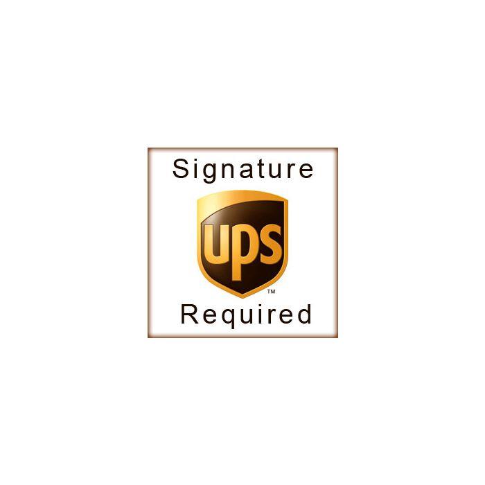 UPS Signature Required