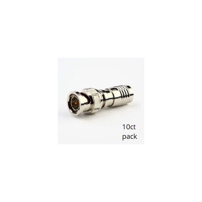 BNC Compression Connectors (10pk) SCW-C102