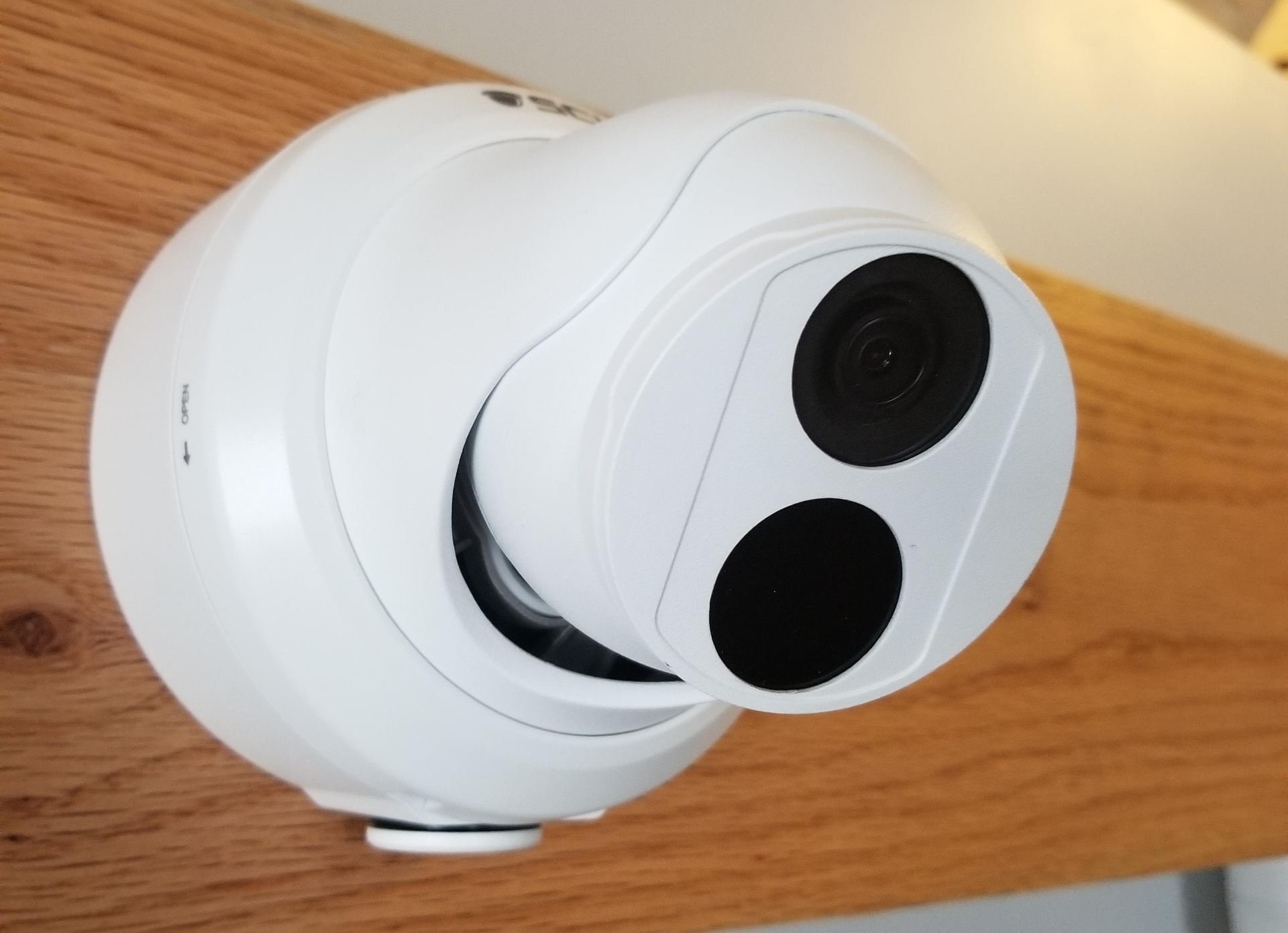 The Deputy 8.0 v1 - 26DF8 - 4K (8MP = 4x1080P)  Fixed Wide Angle Lens Turret Dome Camera