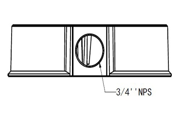 Electrical Box Mount for The Radius and The Judge - EBM26P