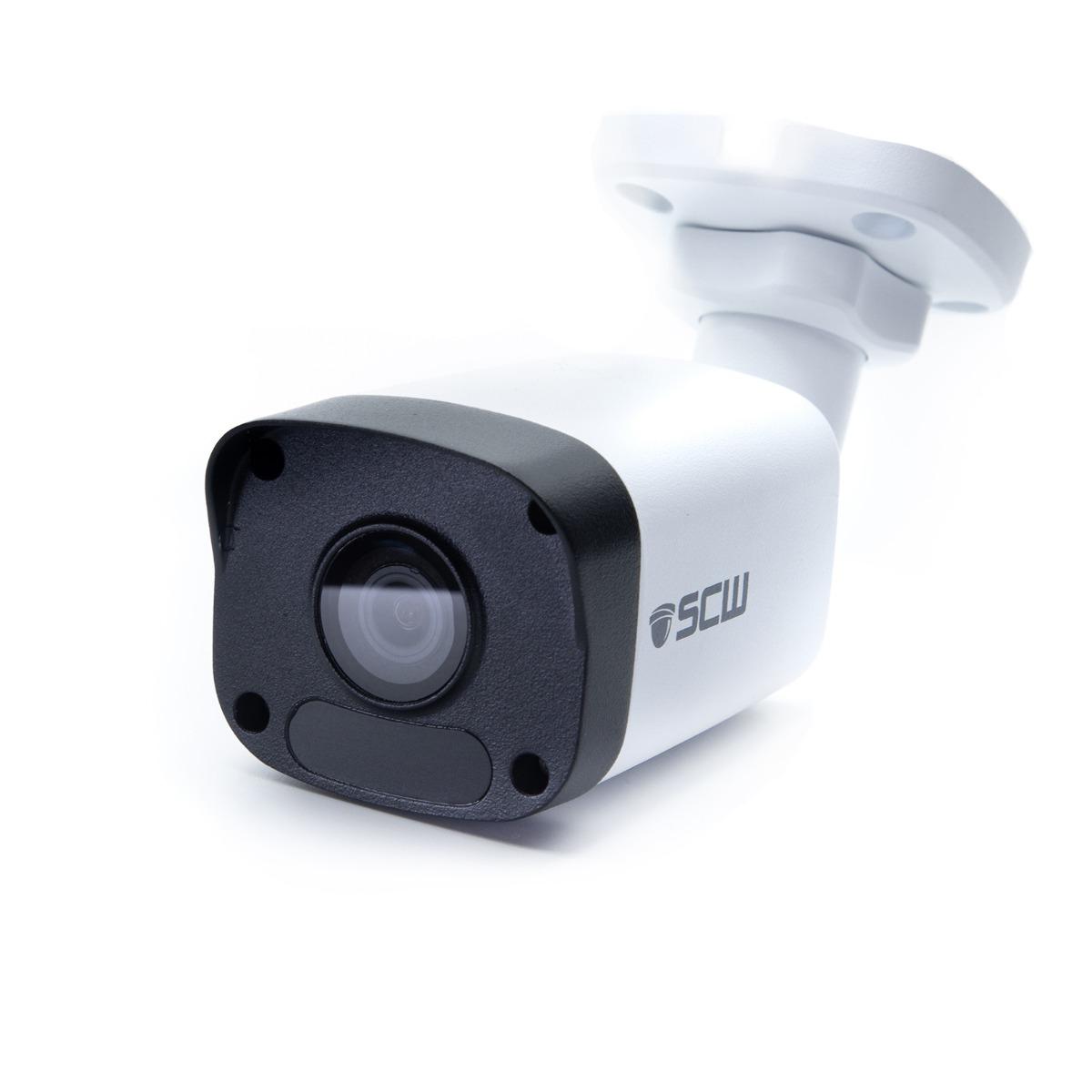 The Warrior 8.0 v2 - 26BF8M - 4K (8MP = 4x1080P) Fixed Lens Mini Bullet Camera