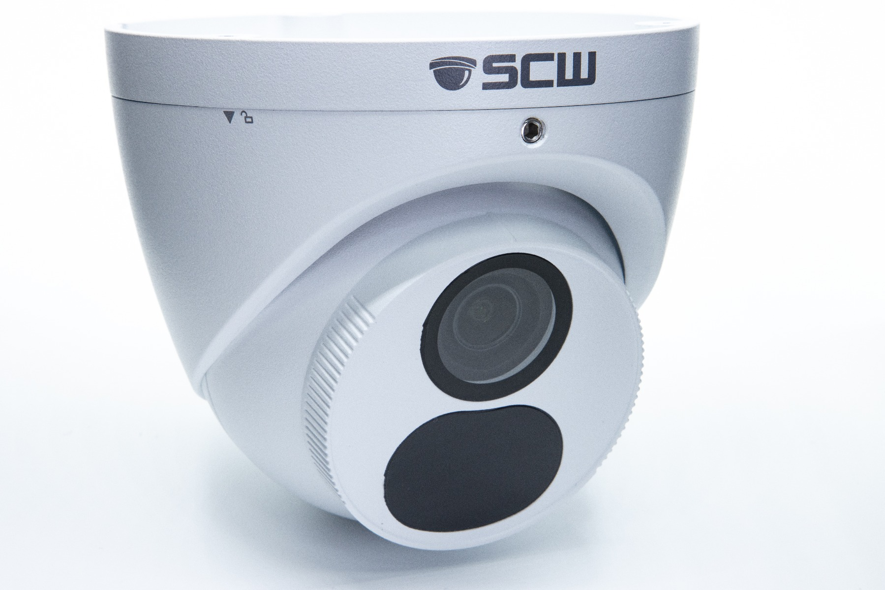 The Deputy 8.0 v2 - 26DF8M - 4K (8MP = 4x1080P) Fixed Wide Angle Lens Turret Dome Camera