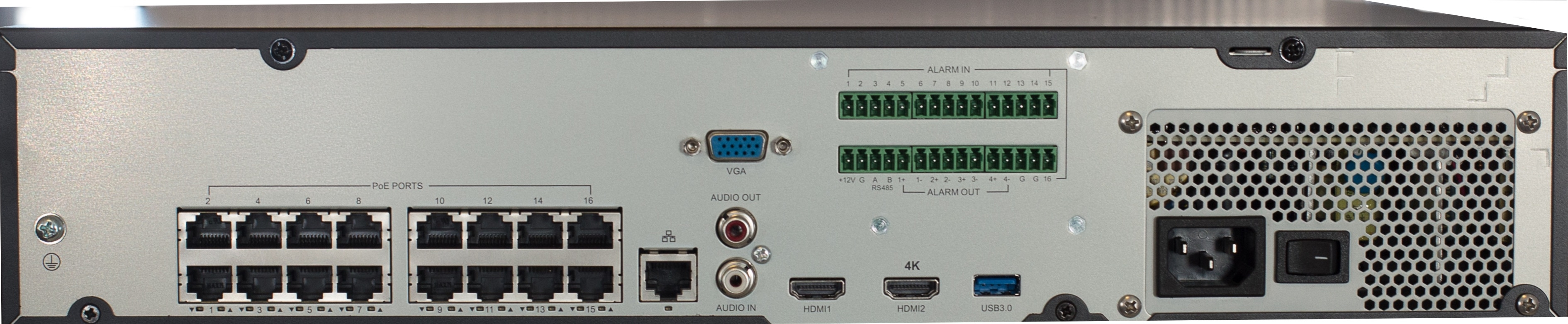 The Admiral Pro 32 Channel 4K NVR - ADMP32P16