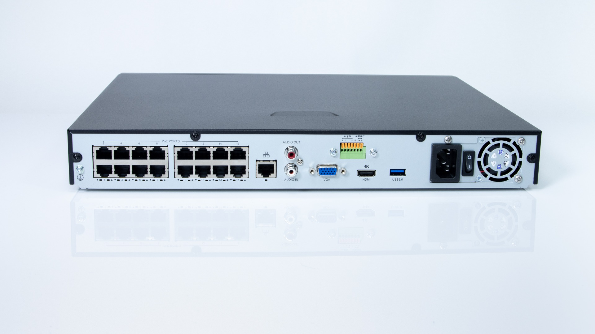 The Admiral Standard 16 Channel 4K NVR v2 - ADM16P16-V2M