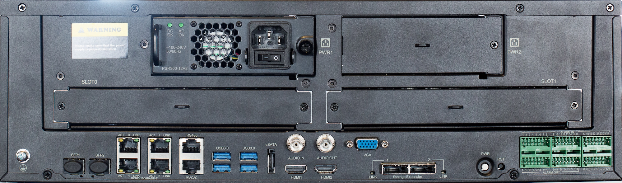 The Imperial 128 Channel 4K NVR - IMP128