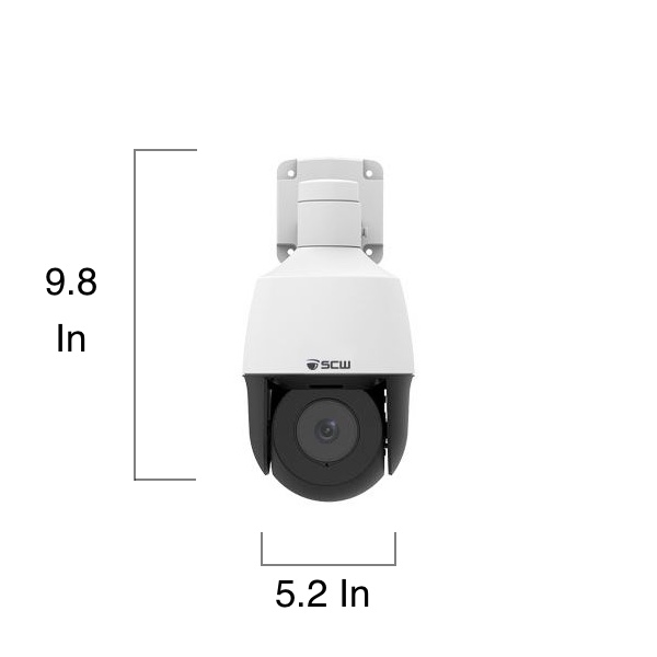DISCONTINUED - The Lookout 2.0 Mini - Mini PTZ with 4x zoom