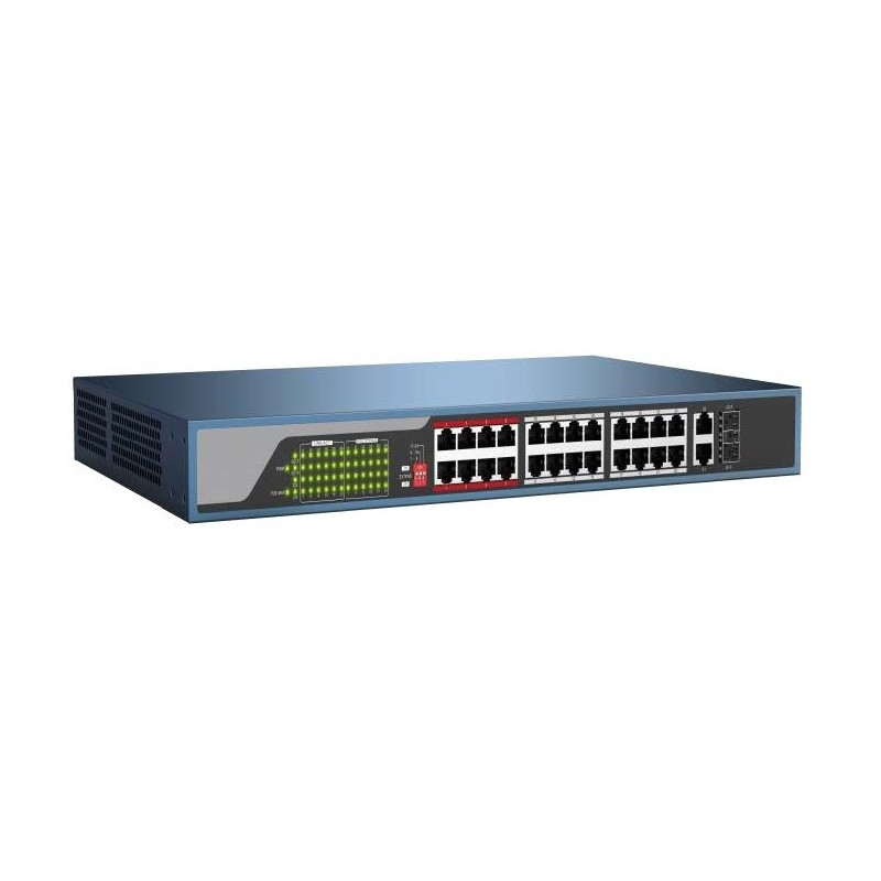DISCONTINUED - 24 Port PoE Switch - SW-24P-POE-440