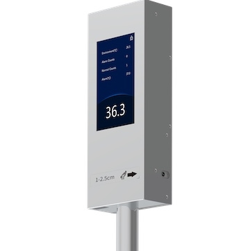 The Delphi - Pole Mounted Contact Free Fever Detection System