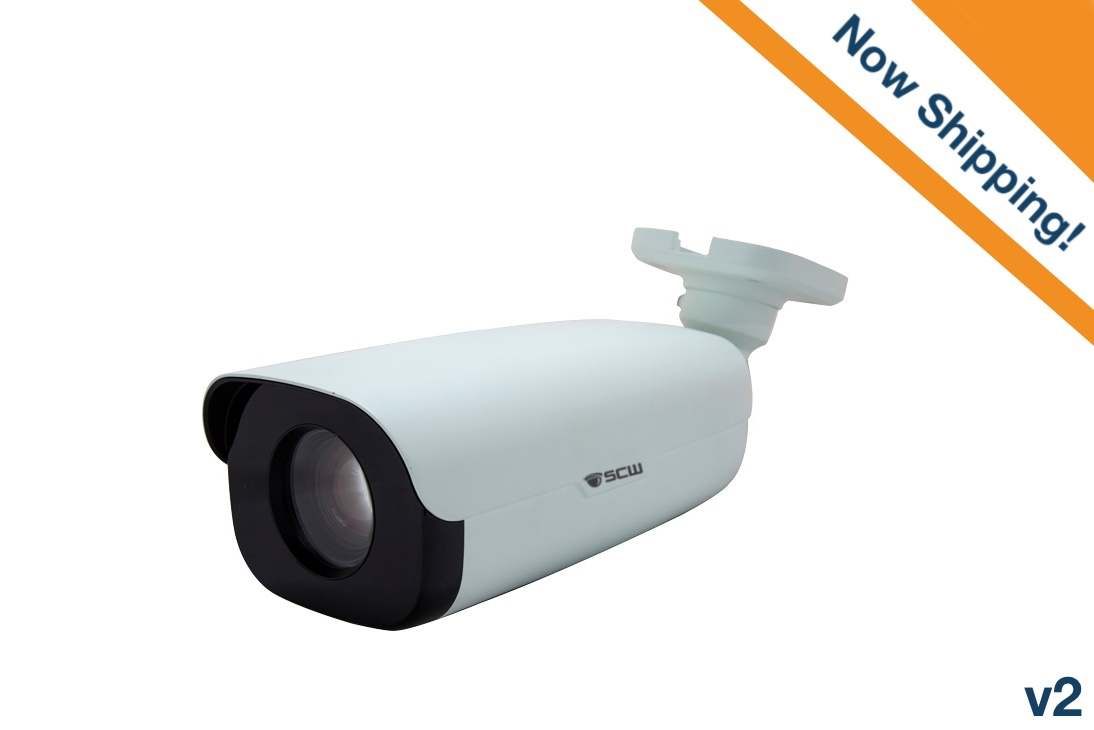 The Sharpshooter 2.0 v2 - 26BV2-XLP - 2MP Super Long Range, Low Light Bullet Camera with Motorized Zoom and Focus