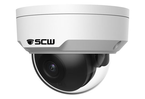 The Sheriff 8.0 - 26DF8M-IK10 - 4K (8MP = 4x1080P) Vandal Proof Fixed Wide Angle Lens IK10 Dome Camera