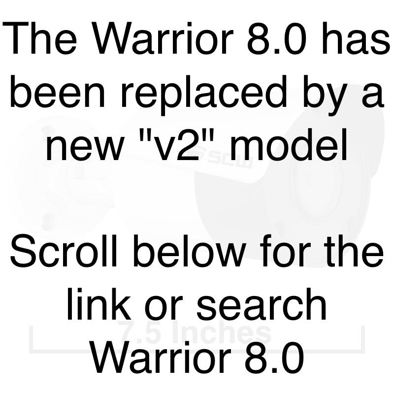 The Warrior 8.0 v1 - 26BF8 - 4K (8MP = 4x1080P) Fixed Lens Mini Bullet Camera